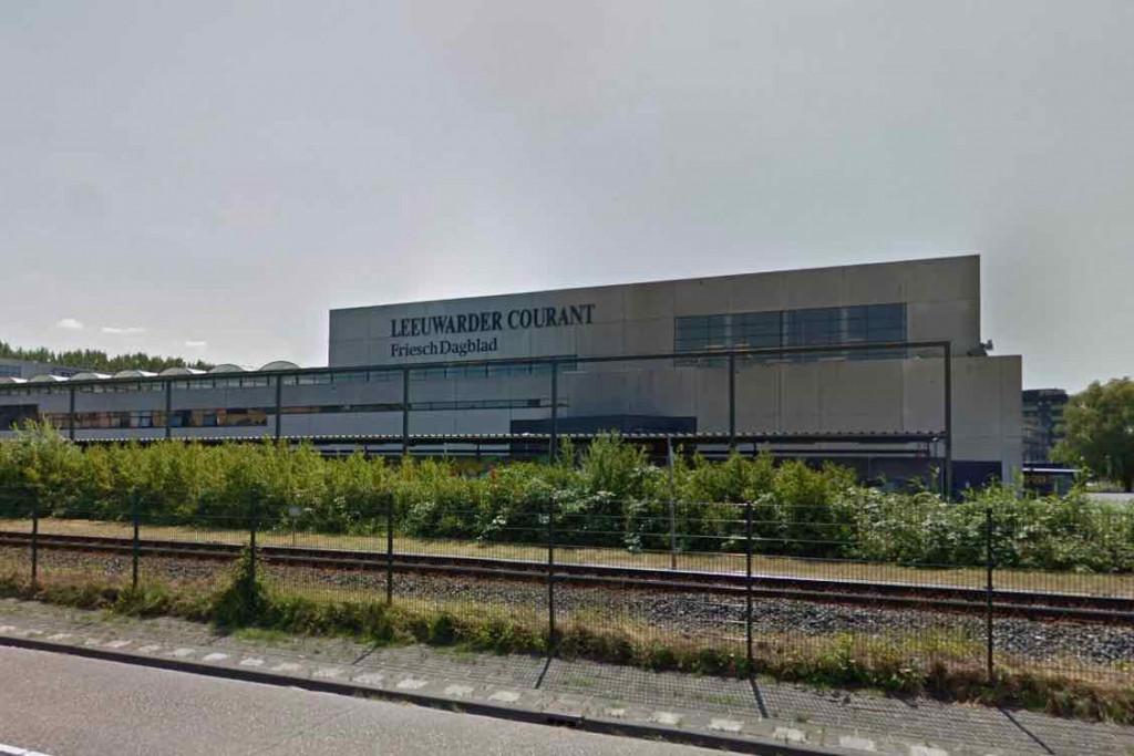 De vestiging van NDC Mediagroep in Leeuwarden.