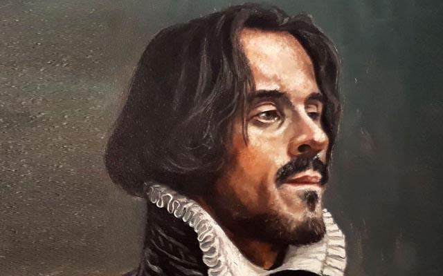 Portret Avercamp geschilderd door Yakhovsky
