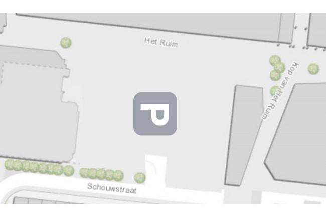 Sloop van de winkels en aanleg van een parkeerplaats is één van de scenario's uit de retailvisie.