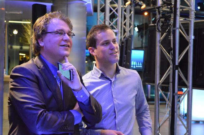 Paul Vermast (links)