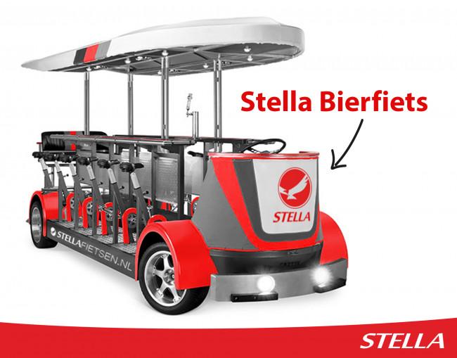 Stella Fietsen ontwikkelt elektrische bierfiets