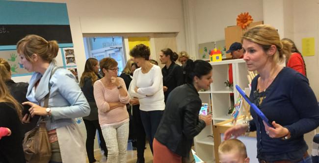 Officiële opening pop-up kindermuseum Beukenstraat.