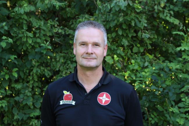 Arje Bredewolt, trainer BAS Voetbal.