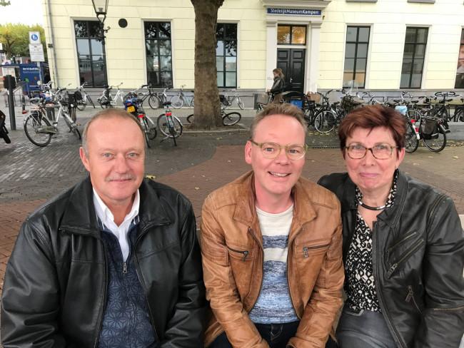 De overige leden van Kampen Sociaal.