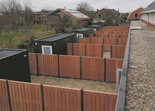 Brinkschuttingbouw is specialist in veranda's, blokhutten en schuttingen