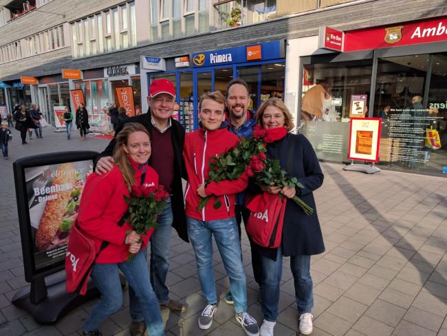 PvdA op bezoek in de wijk Kamperpoort