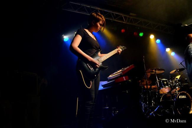 Talent van Rockschool Dronten verzorgt een avond bij Nirwana