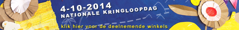 Nationale Kringloopdag, bij Stichting Kringloop Zwolle, zaterdag 4 oktober.
