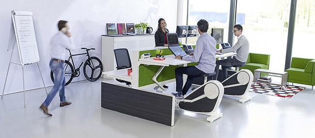 Langdurig en ongezond zitten op kantoor is er door intermezzoo niet meer bij