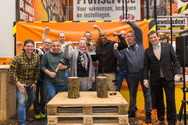 Christopher Lewis pakt titel 'Beste Klusser van Zwolle'