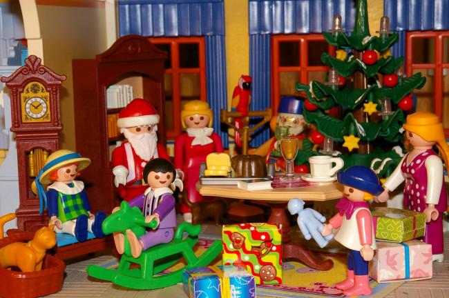 Kerst in Speelgoedkabinet