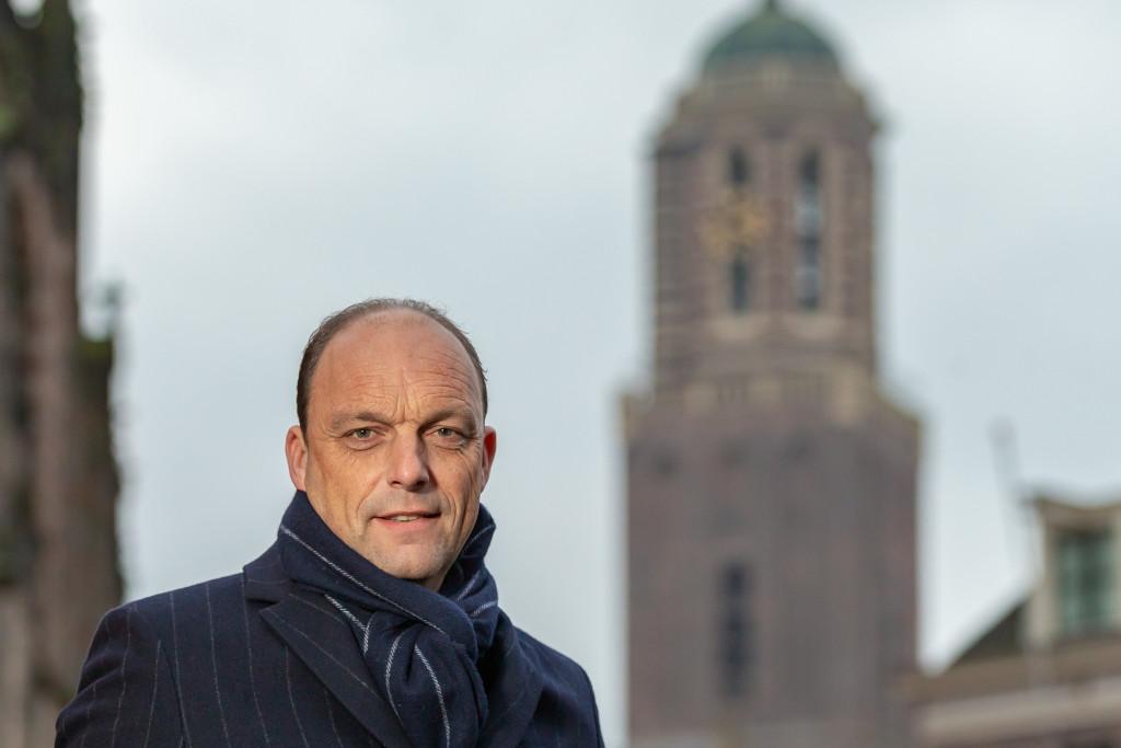 Burgemeester Peter Snijders van Zwolle