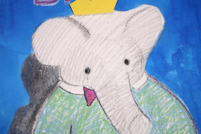 Babar het olifantje maar liefst vijf keer in De Meerpaal