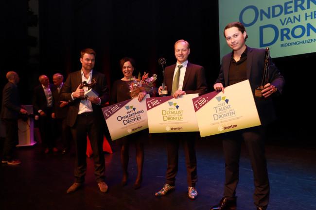 De winnaars van de OVDD-prijzen 2017.