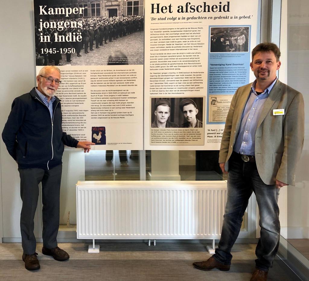 Daan Gunnink en Herman Broers