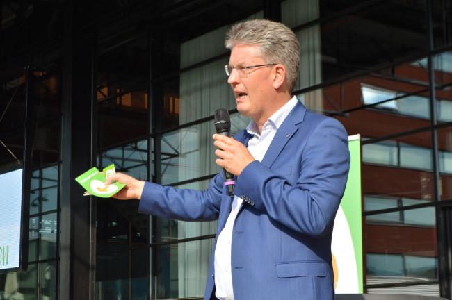 Wethouder Dirk Minne Vis (CDA)
