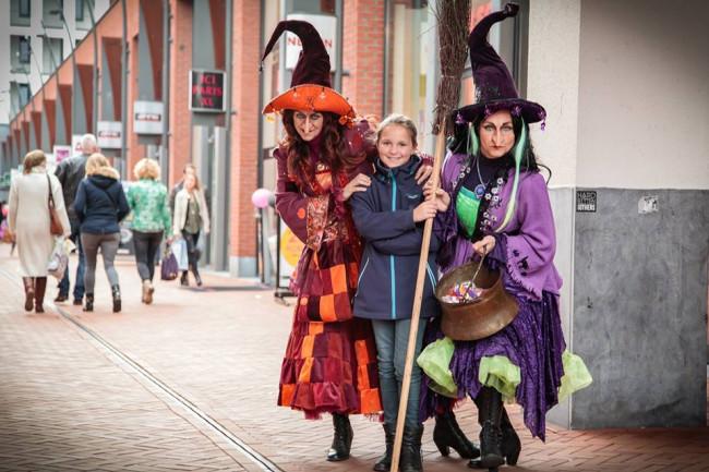 Halloween in Stadscentrum SuyderSee