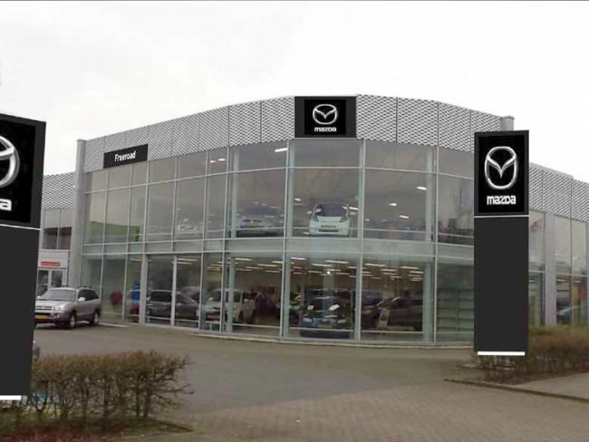 Freeroad Mazda gaat verhuizen in Zwolle
