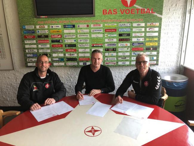 Gerjan Westerhof, Arjen Bredewolt en Martin Kern (v.l.n.r.).