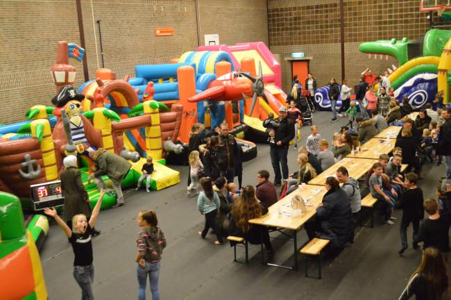 Het Koetshuis als 'indoor speelparadijs'.