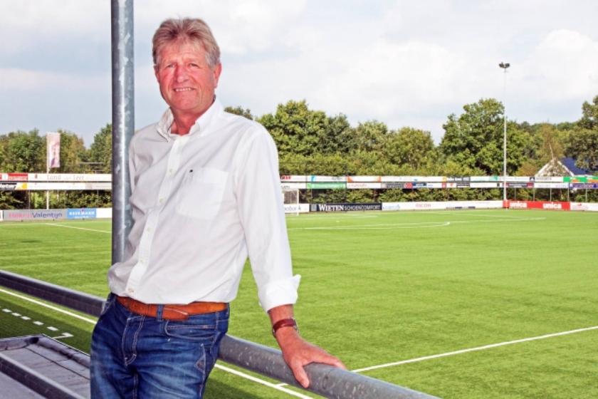 Douwe van der Werf staat hier, in 2013, nog voor zijn periode als voorzitter van Berkum. Inmiddels is hij opgestapt.
