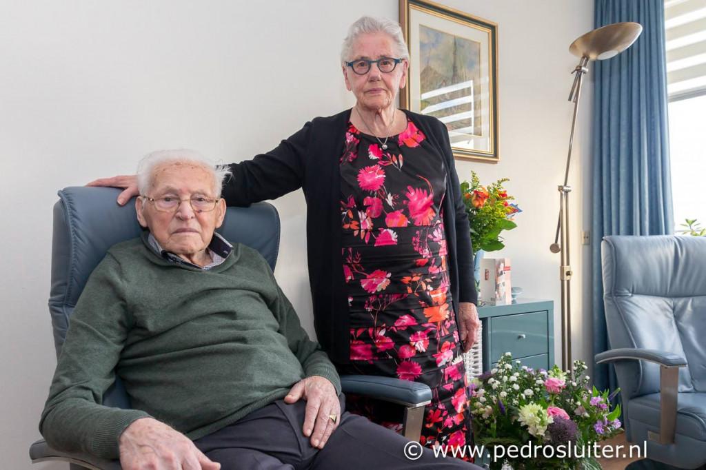 70-Jarig huwelijk echtpaar Wink.
