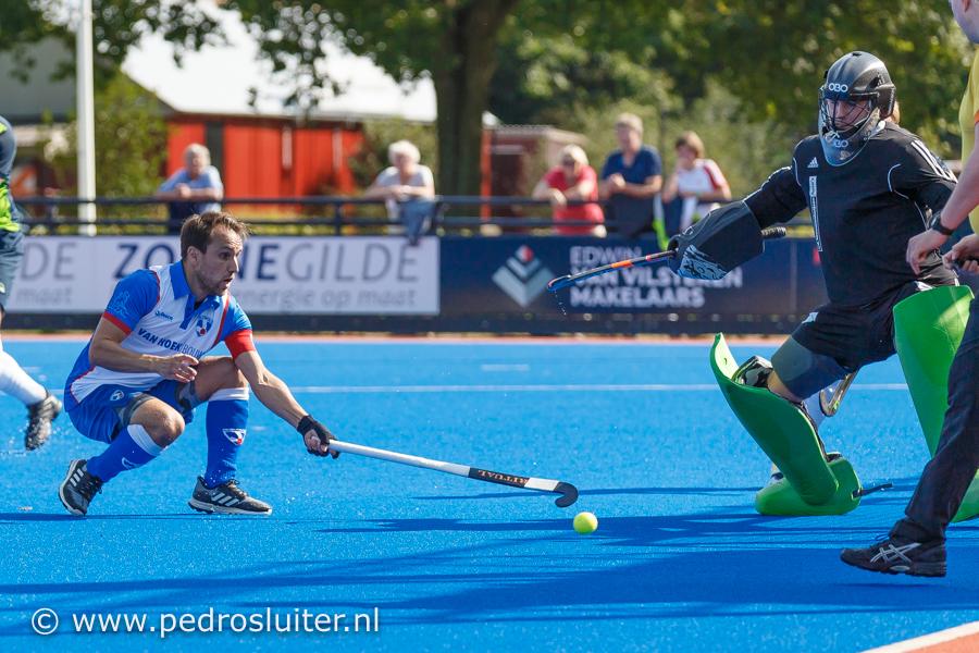 Matthijs Verhoef in actie
