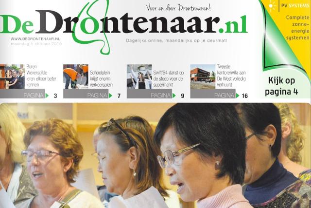 BrugMedia presenteert DeDrontenaar.nl