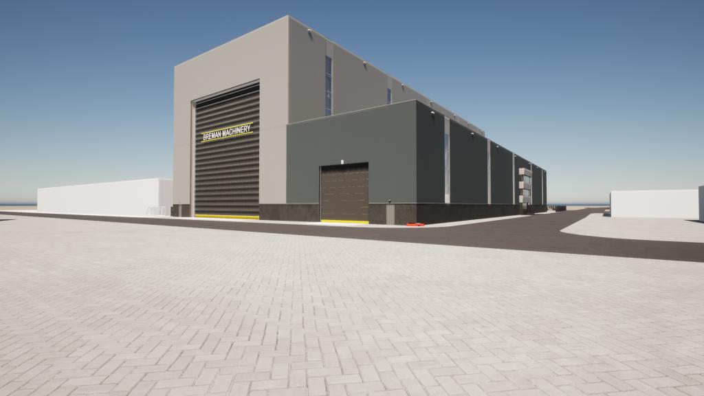 Breman Machinery breidt uit met nieuwe hallen