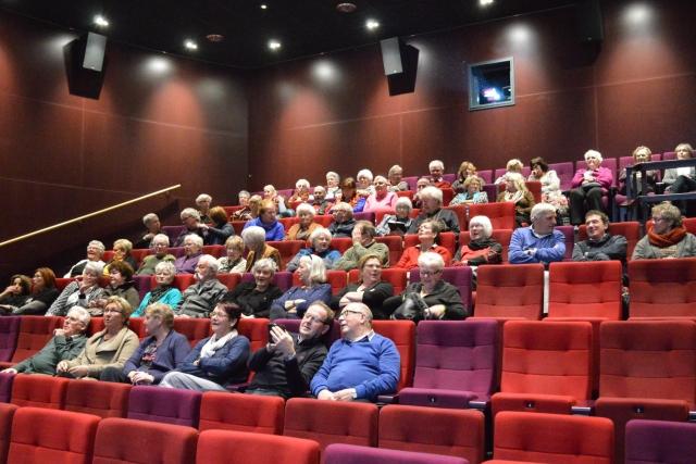 De bioscoopzaal van De Meerpaal.