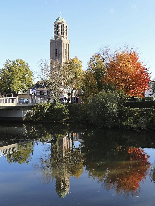Zwolle in de herfst