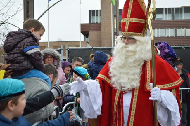Sinterklaas in Dronten.