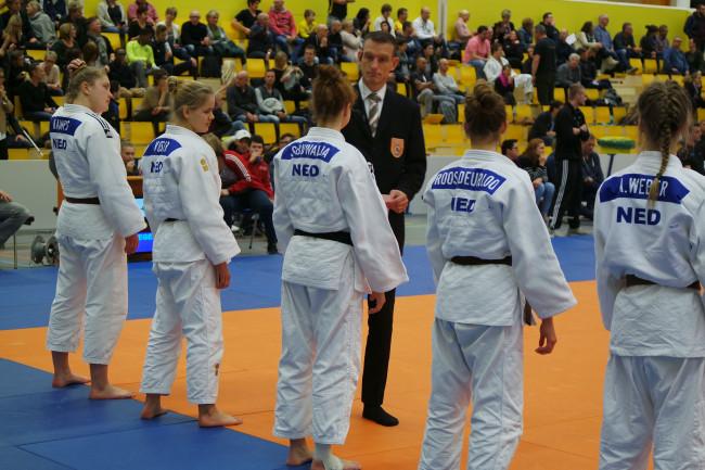 Het team van Sacha Buwalda (midden).