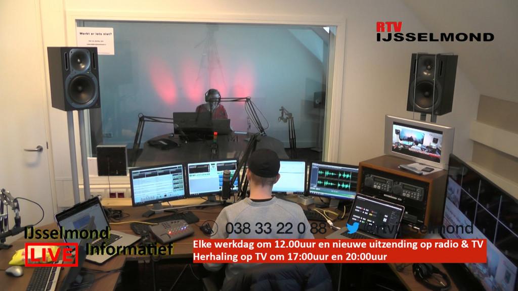 Nieuwe dagelijkse liveshow 'Met z'n allen voor één' op RTV IJsselmond