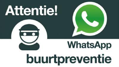 Voorlichtingsavonden over WhatsApp buurtpreventie