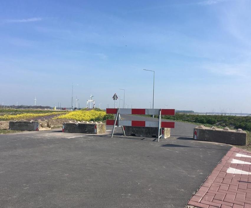 Tulpeiland afgesloten voor gemotoriseerd verkeer