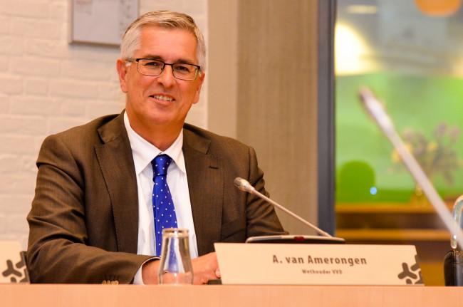 Wethouder Ton van Amerongen (VVD)