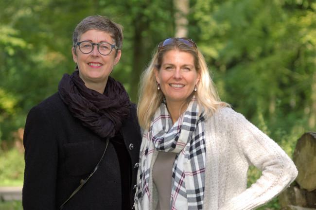 Karin Hofstede en Femke Verhoef.