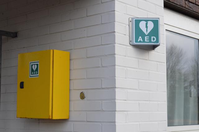 AED in Biddinghuizen.