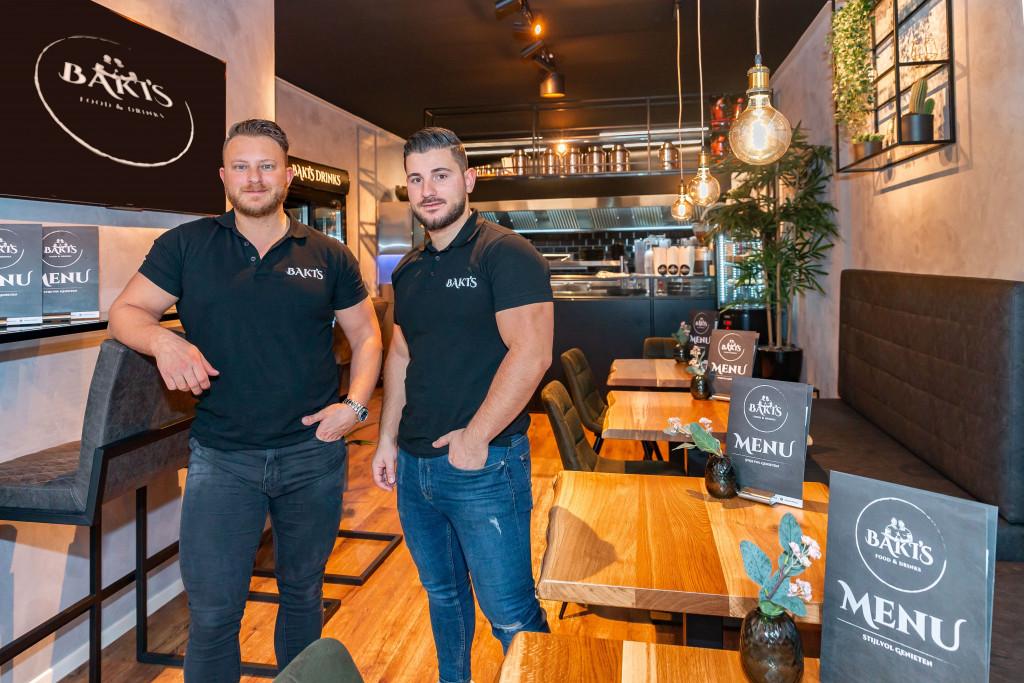 Een mooi concept, een geheim recept; Mehmet en Burak Baki zien hun gasten graag met een glimlach weggaan.