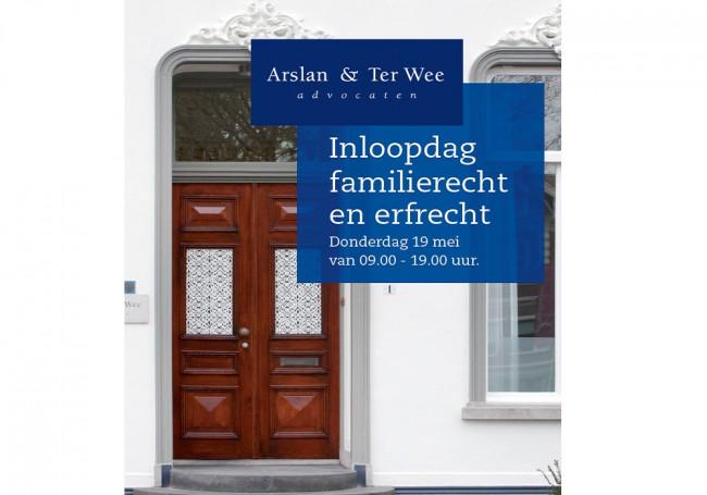 Arslan & Ter Wee Advocaten: Inloopdag familierecht en erfrecht