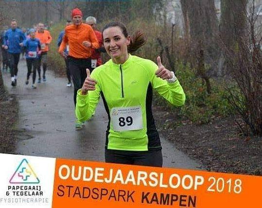 Oudejaarsloop in Stadspark van Kampen