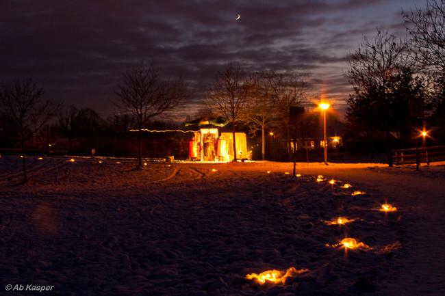 Kerstlichtjestocht in Berkum