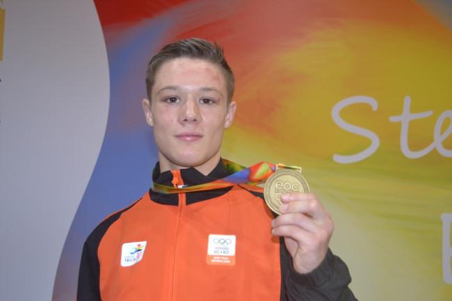 Brons voor judoka Lars Kamphuis in Tbilisi (met filmpje)