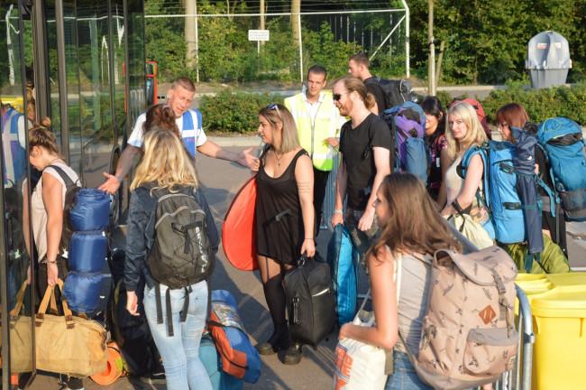 Lowlands-publiek stapt liever uit in Lelystad dan in Dronten
