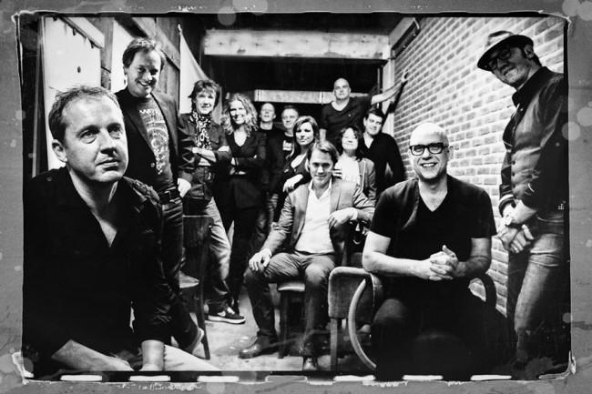 Edwin Evers Band bij Music Club Kampen