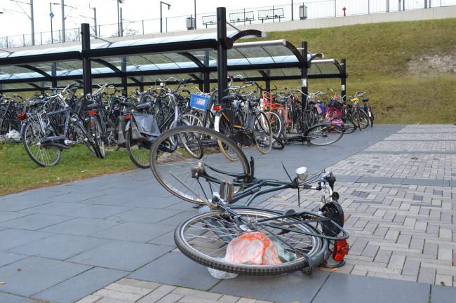 384 extra fietsparkeerplaatsen bij station Dronten