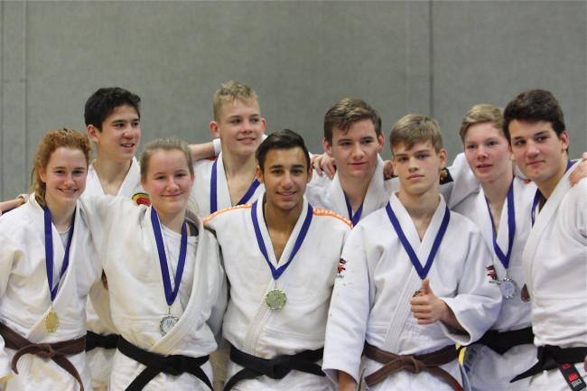 Negen judoka's van Shoganai gaan door naar het NK