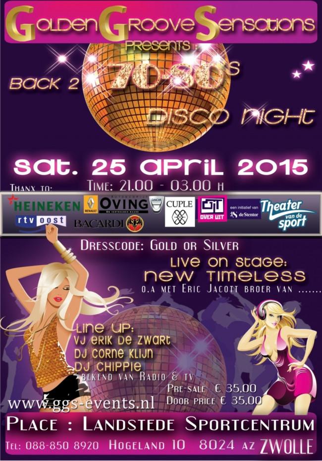 Golden Groove Sensation's ?Back 2 the 70 & 80's disco night?