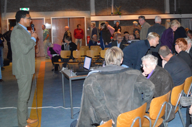 In Swifterbant werd vorige maand gesproken over de woningbouwlocaties.